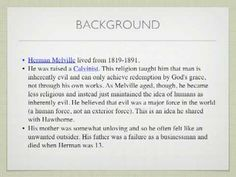An Introduction to Herman Melville