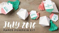 Paper Pumpkin July 2016 https://www.facebook.com/PaperPumpkinPatch/  #paperpumpkin #video #whatagem