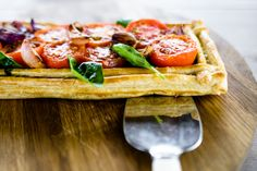 Tomato and Onion Tart at Singita Serengeti House Onion Tart, Pastry Shells, South African Recipes, Basil Pesto, Caramelized Onions, The Dish, Catering, Meals, Dishes
