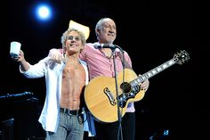 Roger Daltrey Pete Townshend the Who