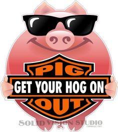 2/' X 2/' VINYL BANNERS 4 PACK  PULLED PORK PIG ROAST BBQ PIG WINGS FUN DESIGNS!