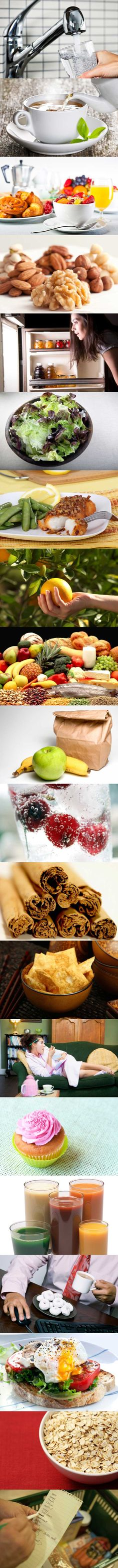 20 Easy Ways to Improve Your Eating Habits