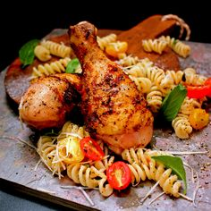 Grilled Rustic Tuscan Chicken | ABachelorAndHisGrill