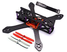 Readytosky Martian II 220mm Racing Drone Carbon Fiber Quadcopter Frame with Power Distribution Board(4mm arms, 5inch propellers,battery strap) -- Continue to the product at the image link.