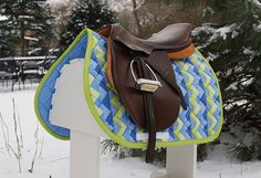 Love this saddle pad, and love the saddle!