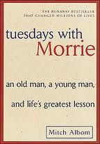 Tuesdays with Morrie is a 1997 non-fiction by columnist Mitch Albom that recounts his time spent with his 79-year-old sociology professor, Morrie Schwartz, at Brandeis University, who was dying from Lou Gehrig's disease (ALS).