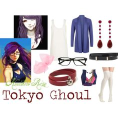 """Kamishiri Rize - Tokyo Ghoul"" by valeriaest on Polyvore"