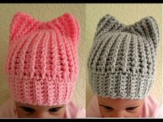 Easy crochet Baby hat with ears instructional months as much as 5 months – Hap… Einfach häkeln Babymütze mit Ohren Tutorial Monate bis 5 Monate – Hap … Crochet child hats (Visited 1 times, 1 visits today) Easy Crochet Baby Hat, Crochet Beanie, Baby Blanket Crochet, Knitted Hats, Knit Crochet, Crochet Hats, Newborn Crochet, Chunky Knitting Patterns, Crochet Baby Hats