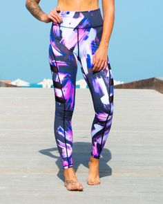 78e1240989181 The Violet Grey legging is for the body positive goddess who loves to show  her wild