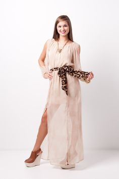 long sleeve maxi dress #swoonboutique