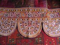 Handmade Banjara Door Toran - my good friend's shop, she lives 'one mountain over' from me, I've seen this in person- it's AMAZING.