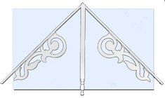 charleston victorian gable kit
