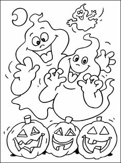Halloween Drawings, Scary Halloween, Fall Coloring Pages, Coloring Books, Halloween Activities, Halloween Crafts, Halloween Coloring Sheets, Butterfly Project, K Crafts