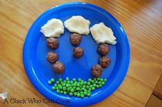 A Chick Who Can Cook: Cloudy with a chance of meatballs