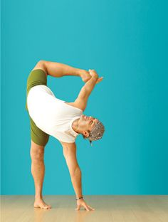 Half Moon Pose (Ardha Chandra Chapasana)  Photographer David Martinez