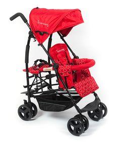 Loving this Red Kinderwagon Jump Stroller on #zulily! #zulilyfinds
