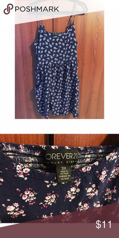 Floral dress with pockets F21 floral dress with pockets!! Forever 21 Dresses Mini