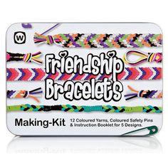 Friendship Bracelet Making Kit - Childrens Art & Craft