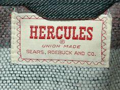 old Hercules workwear label