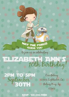 Pin by crafty annabelle on aviator airplane printables pinterest space wars rey inspired printable invitation instant download editable pdf file party invitation birthday stopboris Gallery