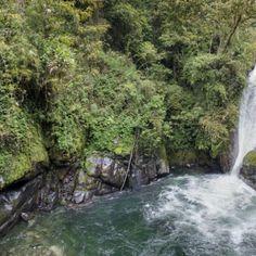 Es una cascada en el Parque Nacional Chirripo. Esta alrededor de 3 partes San José, Limón y Cartago.