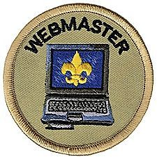 In BSA added two more Boy Scout youth leadership positions – Leave No Trace Trainer and Webmaster. The Webmaster posts information about troop outings, service projects, and other events to the troop and/or chartered organization website. Cub Scout Uniform, Boy Scout Troop, Scout Leader, Cub Scouts, Girl Scouts, Boy Scout Patches, Scout Camping, Eagle Scout, Emblem