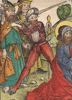Schedel, Hartmann / Alt, Georg / Wolgemut, Michael: Das buch der Cronicken vnd gedechtnus wirdigern geschichte[n], vo[n] anbegyn[n] d[er] werlt bis auf dise vnßere zeit Nürmberg, 1493 GW M40796 Folio 104