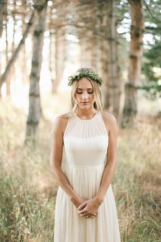 bride - this would be beautiful in a different colour for bridesmaid