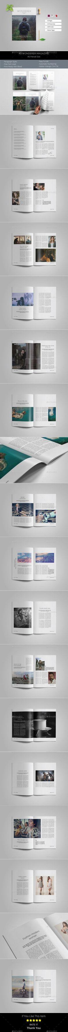 162 best Magazine   Grids & Templates images on Pinterest ...