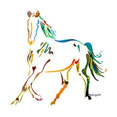Jo Lynch - Horse of Many Colors