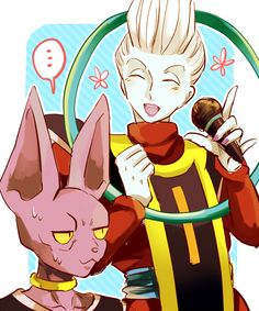 beerus and whis meet champagne