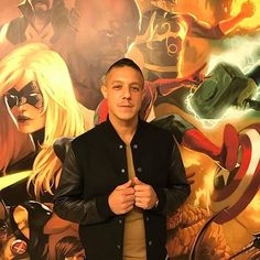 Theo Rossi at the, Marvel comics Headquarters promoting Luke Cage. NETFLIX