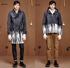 5eb5d7e3cd08 Band of Outsiders 2015-2016 Fall Autumn Winter Mens Lookbook Presentation - Denim  Jeans Jumpsuit