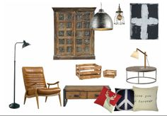Industrial. Check out this moodboard created on @Cheryl Brogan: Industrial by becd21