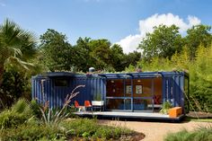 San Antonio Guest House by Poteet Architects | #OrganicSpaMagazine