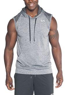 Men s Clothing, Hoodies   Sweatshirts, Men s Infinity Rep Sleeveless  Pullover Hoodie - Dark Athletic df7f485adbe