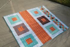 Custom Baby Boy Quilt - SOLD | Flickr - Photo Sharing!