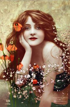 Beautiful vintage summer portrait I knew it had been a long time since I had posted, but I can't believe it has been that long! Images Vintage, Vintage Pictures, Vintage Photographs, Vintage Postcards, Art Pictures, Vintage Prints, Vintage Art, Vintage Paintings, Vintage Portrait