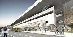 Galería de Murtino+Raby Arquitectos y Araya Arquitectos, segundo lugar en diseño de The Antofagasta British School - 1