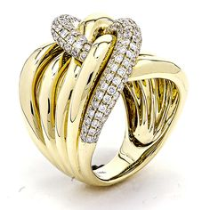 Yellow Gold Knot Band