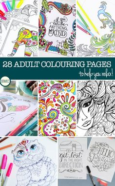 Kolorowanka dla dużych księżniczek :)  These adult colouring pages are BEAUTIFUL - and just what I need to relax once the kiddos have FINALLY gone to bed!