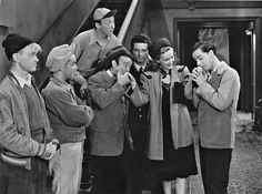 """Spook Busters"" (1946) - Starring: The Bowery Boys (aka The Dead End Kids) - Leo Gorcey, Huntz Hall & Bobby Jordan."