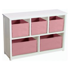 perfect for under the last piece add a little cushion and a mirror which my BFF Amanda gave me call that done! Guidecraft Classic White Bookshelf with Optional Baskets