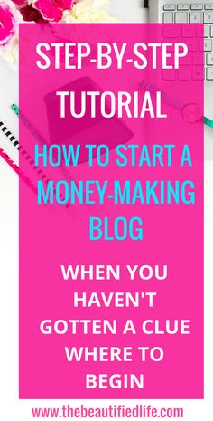 Start a profitable blog with this WordPress tutorial. Starting a blog couldn't be easier! Even if you're starting from scratch you CAN start a money-making blog and make money blogging.