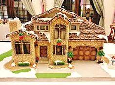 Simple-Inspiring  Gingerbread House Ideas-34