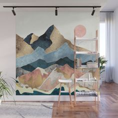 Give Your Home a Bold Accent Wall with New Peel Stick Wall Murals Design Milk Home Deco Accent Bold bold print wallpaper bedroom Design Give Home Milk Murals Peel Stick Wall Mur Diy, Diy Wand, Deco Design, Design Trends, Mural Art, Room Decor, Home Decor Wall Art, Decor Ideas, Mural Ideas