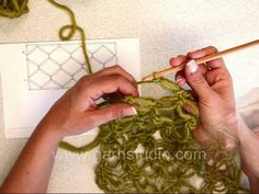 Love knots crochet square or rectangle by Garnstudio Drops design. Crochet love knots inspired by the Celtic never-ending knots, the symbol of eternal love. This video shows how to crochet a square or rectangle with straight edges.
