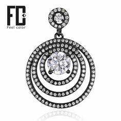 fashion design genuine 925 sterling silver black gold plated pendant retro dazzling nice valentine gift bijoux