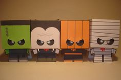 Cardboy Halloween Papercraft by ~Skele-kitty on deviantART