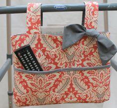 walker bag tote wheelchair bag grandma gift by GrannysOnTheGo